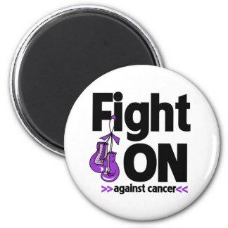 Lucha encendido contra cáncer del ESENCIAL Imán De Frigorífico