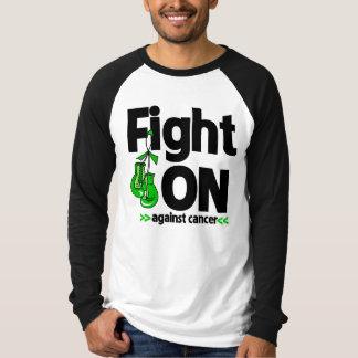 Lucha encendido contra cáncer hepático playera