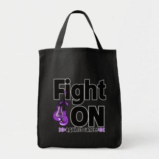 Lucha encendido contra cáncer pancreático bolsas