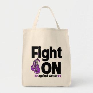 Lucha encendido contra cáncer pancreático bolsa
