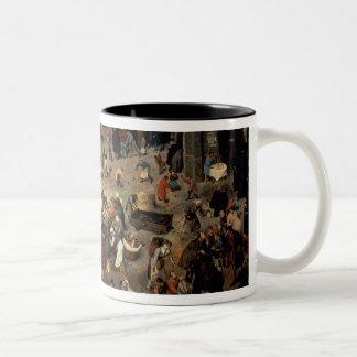 Lucha entre el carnaval y prestada, 1559 taza de café