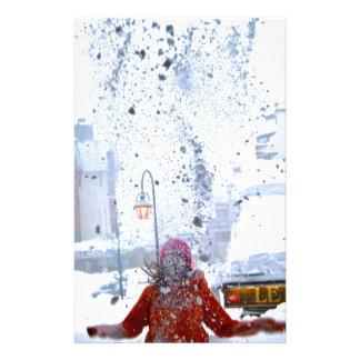 Lucha Francia de la nieve Papeleria Personalizada