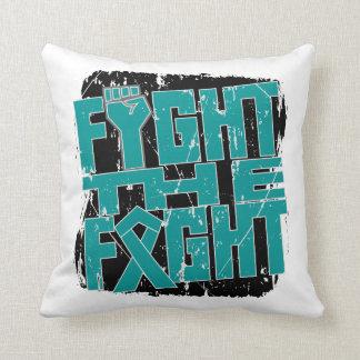 Lucha ginecológica del cáncer la lucha almohada