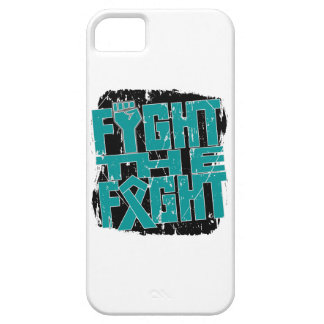 Lucha ginecológica del cáncer la lucha iPhone 5 protector