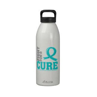 Lucha ginecológica del cáncer para una curación botellas de beber