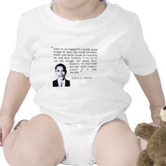 Lucha global, Obama Barack Trajes De Bebé