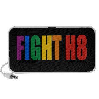 Lucha H8/las derechas iguales Portátil Altavoz