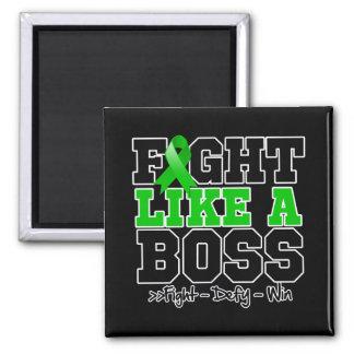 Lucha hepática del cáncer como Boss Imán De Frigorífico