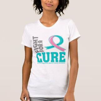 Lucha hereditaria del cáncer de pecho para una camiseta