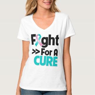 Lucha hereditaria del cáncer de pecho para una playeras