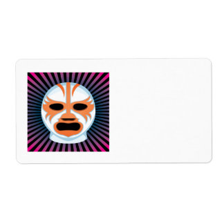 Lucha Libre 2 Custom Shipping Label