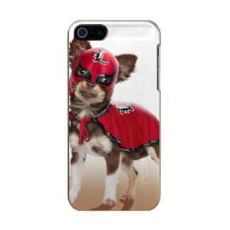 Lucha libre dog ,funny chihuahua,chihuahua metallic phone case for iPhone SE/5/5s