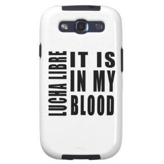 Lucha Libre está en mi sangre Galaxy S3 Cárcasas