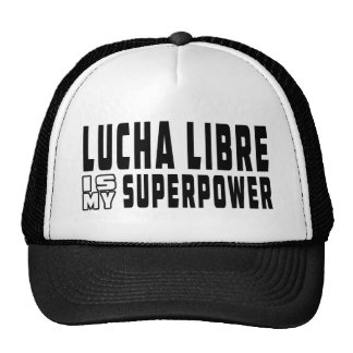 Lucha Libre is my superpower Mesh Hat