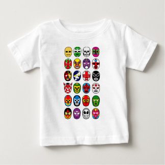 Lucha Libre Luchador Mexican Wrestling Masks Baby T-Shirt
