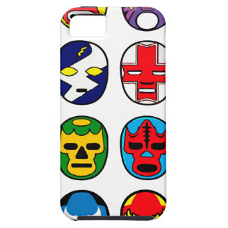 Lucha Libre Luchador Mexican Wrestling Masks iPhone SE/5/5s Case