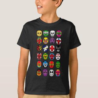 Lucha Libre Luchador Mexican Wrestling Masks T-Shirt