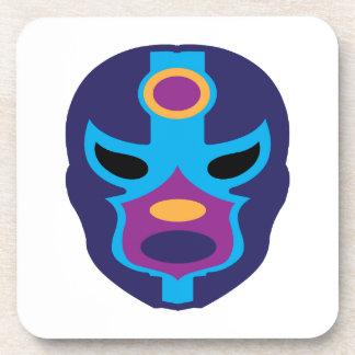 Lucha Libre Mask Drink Coaster
