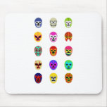 Lucha Libre Mask Mexican Wrestling Mousepad