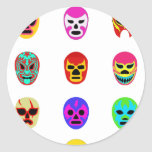 Lucha Libre Mask Mexican Wrestling Stickers