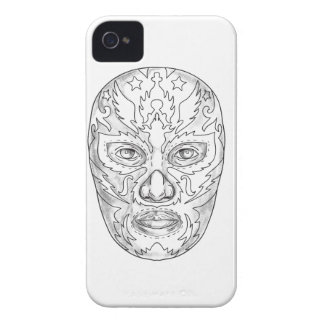 Lucha Libre Mask Tattoo iPhone 4 Case