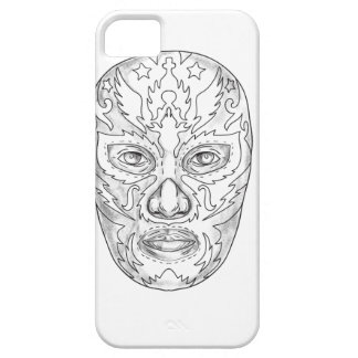 Lucha Libre Mask Tattoo iPhone SE/5/5s Case