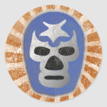 Lucha Libre Mexican Wrestling Classic Round Sticker