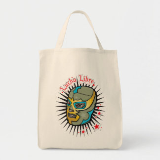 Lucha Libre Mexican Wrestling Mask Tote Bag
