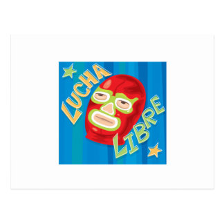 Lucha Libre Post Cards