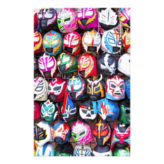 Lucha Libre Stationery