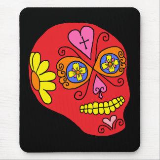 Lucha Libre Sugar Skull Mouse Pad
