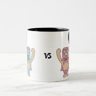 Lucha Libre Two-Tone Coffee Mug