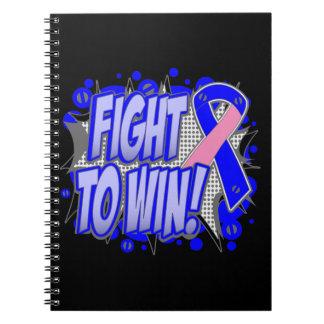 Lucha masculina del cáncer de pecho a ganar libreta