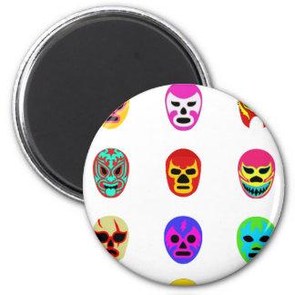 Lucha mexicana de la máscara de Lucha Libre Iman De Nevera