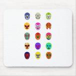 Lucha mexicana de la máscara de Lucha Libre Tapete De Ratón