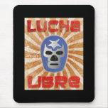 Lucha mexicana de Lucha Libre Alfombrillas De Ratones