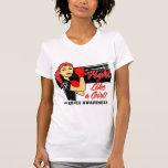 Lucha moderna como un chica - diabetes de Rosie Camiseta
