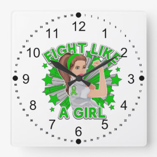 Lucha moderna de Rosie de la neurofibromatosis com Reloj