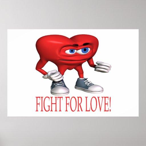 Lucha para el amor póster