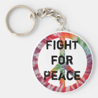 Lucha para el llavero de la paz