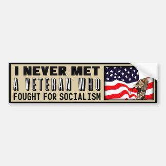 ¿Lucha para el socialismo? Pegatina De Parachoque