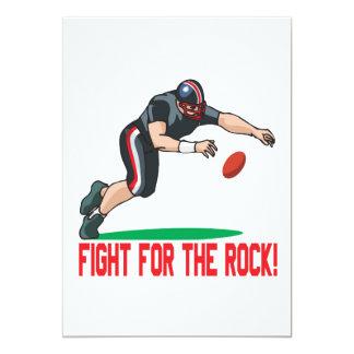 """Lucha para la roca invitación 5"""" x 7"""""""