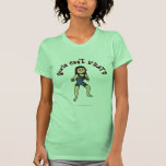 Lucha para mujer ligera camisetas