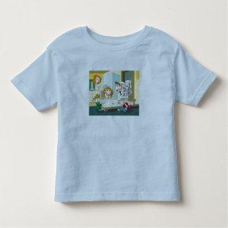 Lucha posible de la comida de los gemelos del t shirt
