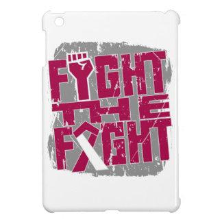 Lucha principal del cáncer del cuello la lucha iPad mini fundas