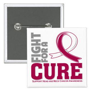 Lucha principal del cáncer del cuello para una cur pin cuadrado