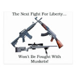 Lucha siguiente para la libertad tarjeta postal