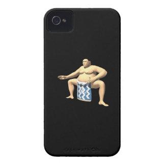 Luchador 2 del sumo iPhone 4 Case-Mate cárcasa