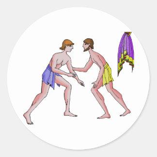 Luchador 396 del campeón A.C. Etiqueta Redonda