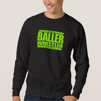 LUCHADOR de BALLER - soy estilo libre que ataca al Sudadera Con Capucha